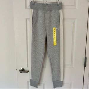 New PUMA Grey and White Women's Joggers Pants S